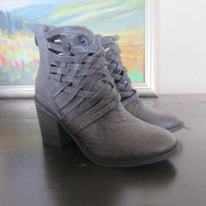 Free People Carerra Ankle Boots size 38/8